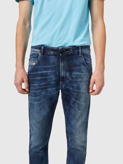 Diesel - Krooley JoggJeans® 069XE, Azul medio - Vaqueros - Image 3