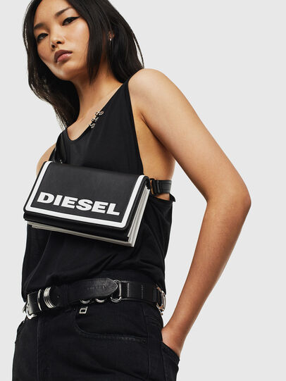 Diesel - DIPSEVOLUTION, Black/White - Continental Wallets - Image 8