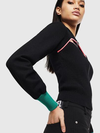 Diesel - M-LANAE, Black - Sweaters - Image 4