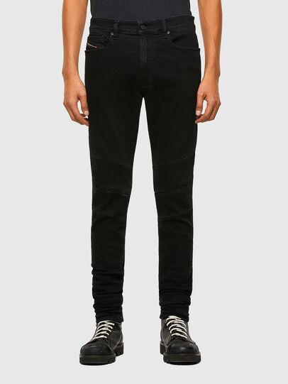 Diesel - D-Amny Skinny Jeans 009RB, Black/Dark Grey - Jeans - Image 1