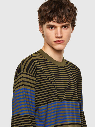 Diesel - K-BALTIC, Blue/Green - Sweaters - Image 3