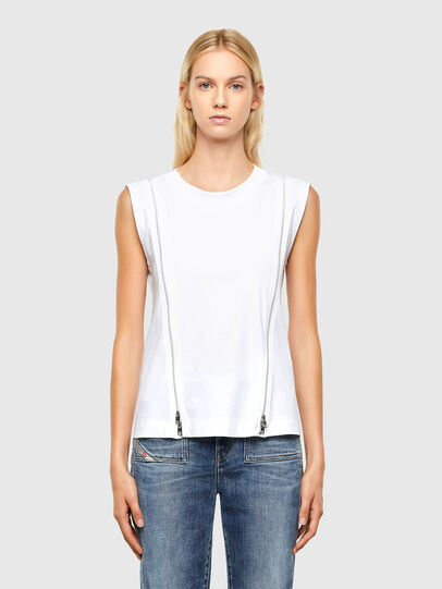 Diesel - T-GARTH, White - Tops - Image 1