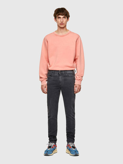 Diesel - D-Amny Skinny JoggJeans® 09A74, Black/Dark Grey - Jeans - Image 5