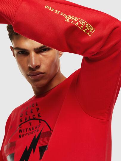Diesel - S-GIRK-J2, Red - Sweatshirts - Image 4