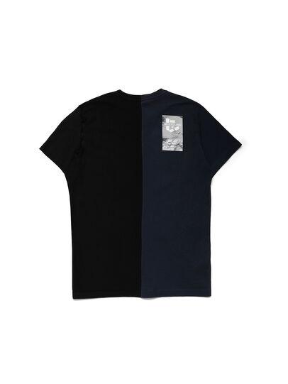 Diesel - D-MESO&MESO, Azul/Negro - Camisetas - Image 2