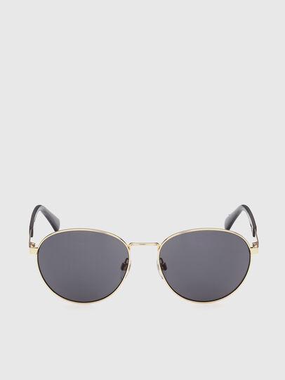 Diesel - DL0355, Black/Gold - Sunglasses - Image 1