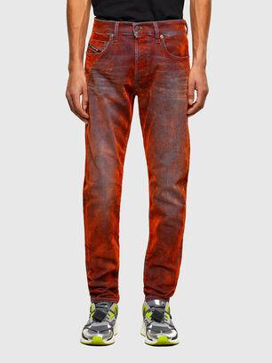 D-Strukt 069TL, Red - Jeans