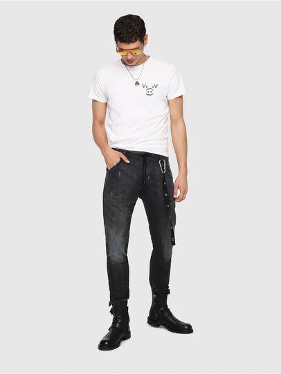 Diesel - Krooley JoggJeans 069IA, Black Jeans - Jeans - Image 5