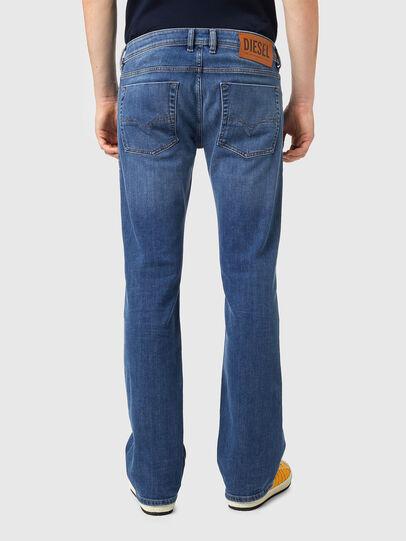 Diesel - Zatiny Bootcut Jeans 09A80, Medium Blue - Jeans - Image 2