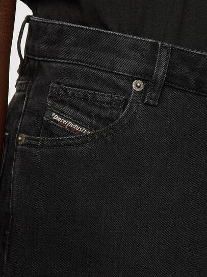 Diesel - D-Spritzz Flare Jeans 009RN, Black/Dark Grey - Jeans - Image 3