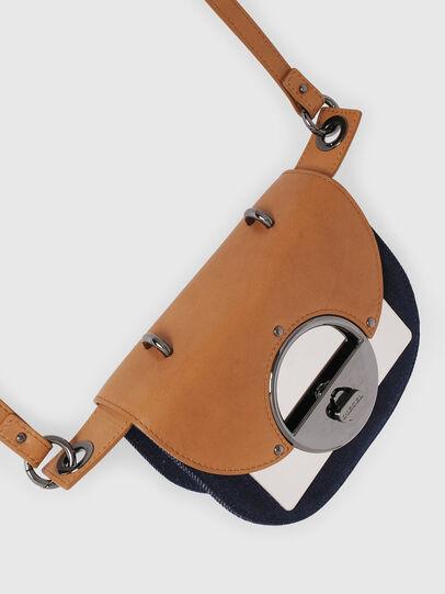 Diesel - DEBIE, Blue/Beige - Crossbody Bags - Image 5