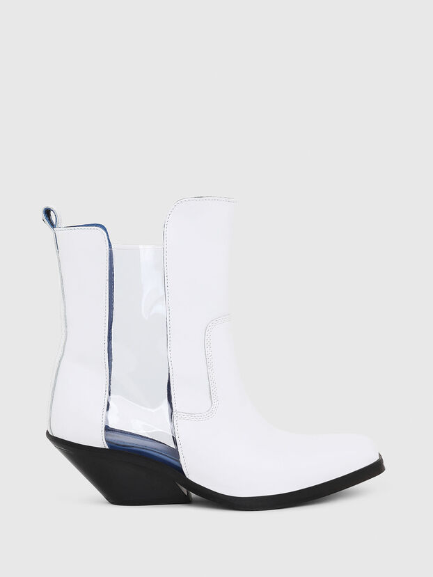 D-GIUDECCA MAT, White - Ankle Boots