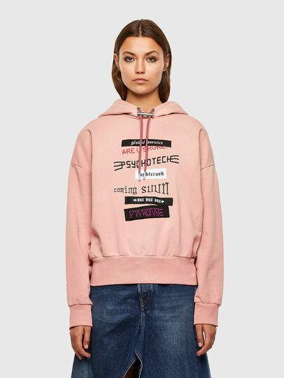 Diesel - F-MAGDALENA-V1, Pink - Sweatshirts - Image 1
