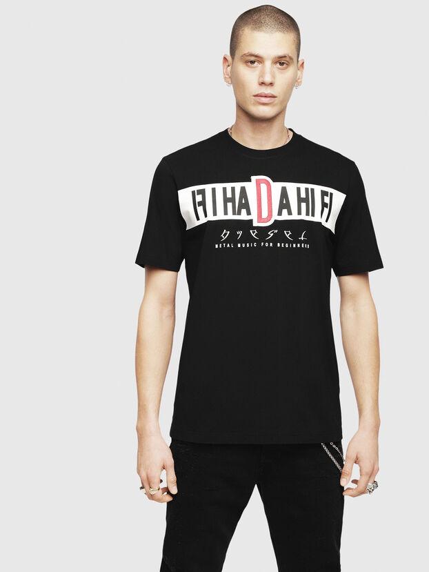 T-JUST-YZ, Black - T-Shirts