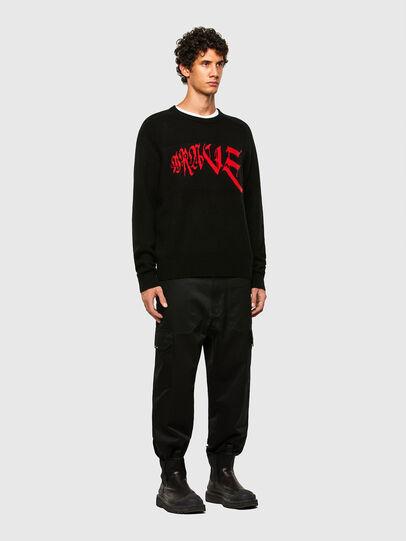 Diesel - K-WILSON, Black - Sweaters - Image 5
