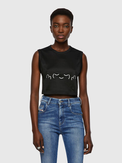 Diesel - T-WELL, Black - T-Shirts - Image 1