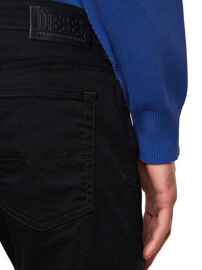 Diesel - Sleenker Skinny Jeans 069EI, Black/Dark Grey - Jeans - Image 4