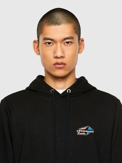 Diesel - S-GIRK-HOOD-K22, Black - Sweatshirts - Image 3