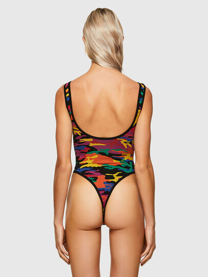 Diesel - UFBY-BODY-P, Multicolor - Bodysuits - Image 2