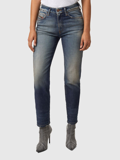 Diesel - D-Joy Slim Jeans Z9A05, Medium Blue - Jeans - Image 1