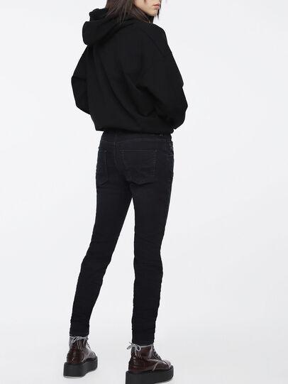 Diesel - Krailey JoggJeans 069CM, Black/Dark Grey - Jeans - Image 2