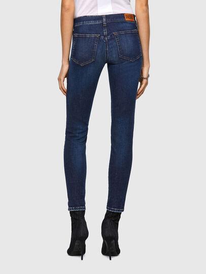 Diesel - D-Jevel Slim Jeans 09A30, Dark Blue - Jeans - Image 2
