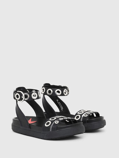 Diesel - SA-GRAND LCE, Black - Sandals - Image 2