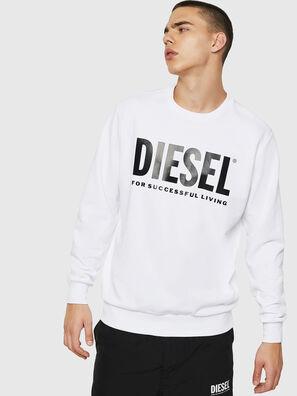 S-GIR-DIVISION-LOGO, White - Sweatshirts