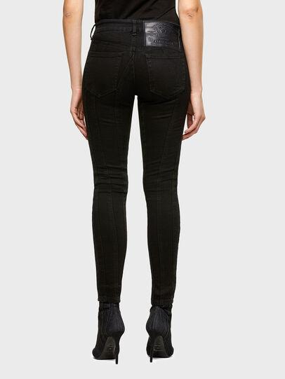 Diesel - Slandy Skinny Jeans 069VP, Black/Dark Grey - Jeans - Image 2