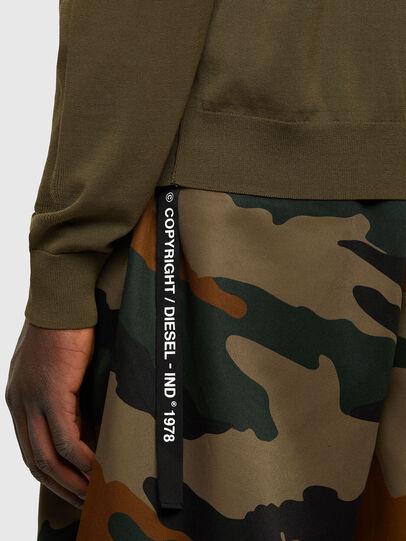Diesel - K-NAVAJO, Military Green - Sweaters - Image 4