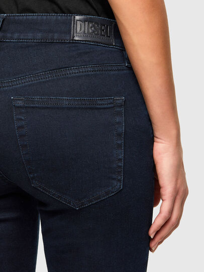 Diesel - Slandy Skinny Jeans 009PV, Dark Blue - Jeans - Image 4