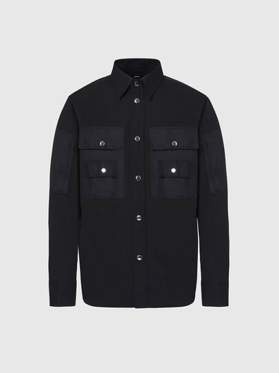 Diesel - S-AUSTIN, Black - Shirts - Image 1
