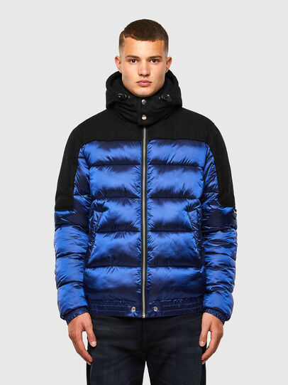 Diesel - W-NYWOOL, Blue - Winter Jackets - Image 1