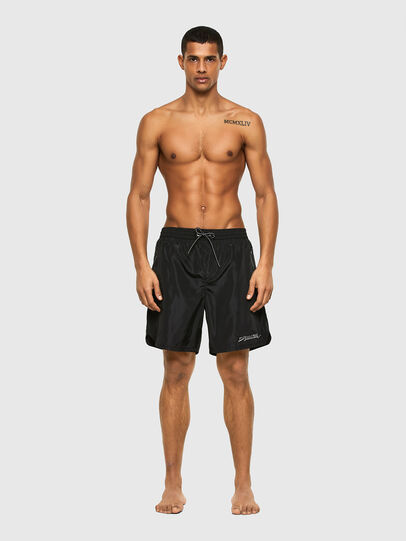 Diesel - BMBX-DOLPH, Black - Swim shorts - Image 1