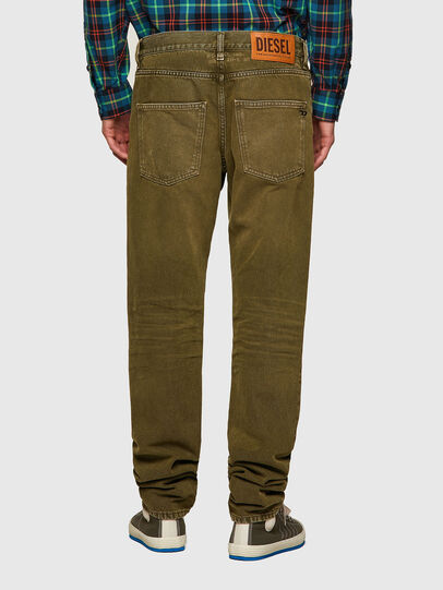 Diesel - D-Kras Slim Jeans 09A35, Military Green - Jeans - Image 2