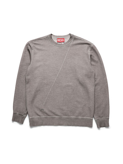 Diesel - ACW-SW01, Grey - Sweatshirts - Image 1