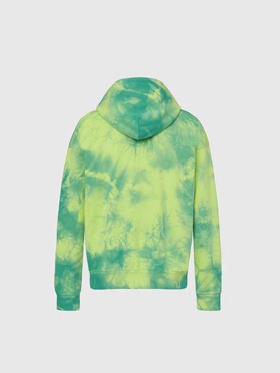 Diesel - S-ALBYEL-X4, Green/Yellow - Sweatshirts - Image 2