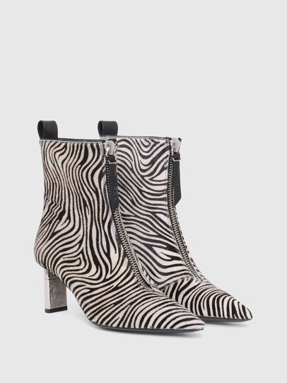 Diesel - D-LEZIPPO MAB, Black/White - Ankle Boots - Image 2