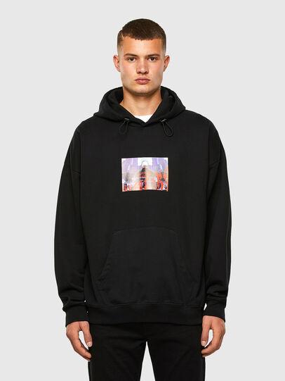 Diesel - S-UMMEREL, Black - Sweatshirts - Image 1