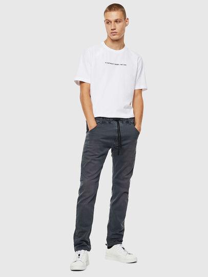Diesel - Krooley JoggJeans 0670M, Dark Grey - Jeans - Image 6