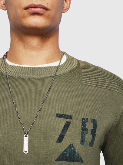 Diesel - K-PACHY, Military Green - Sweaters - Image 3