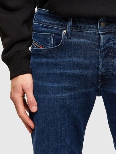 Diesel - Sleenker Skinny Jeans 009QI, Dark Blue - Jeans - Image 3