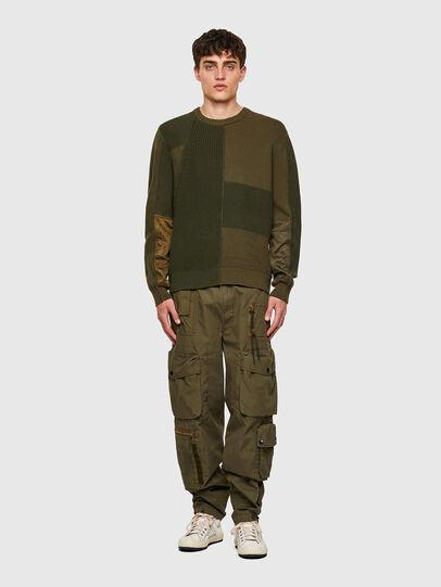 Diesel - K-YUKON, Military Green - Sweaters - Image 5
