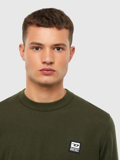 Diesel - K-FREEX-B, Military Green - Sweaters - Image 3