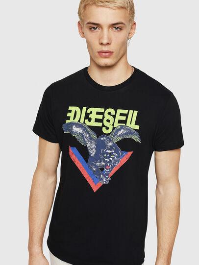 Diesel - T-DIEGO-A4, Black - T-Shirts - Image 1