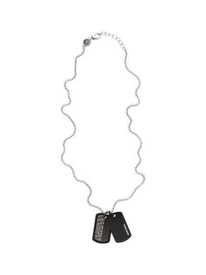 Diesel - DX1287, Black - Necklaces - Image 2
