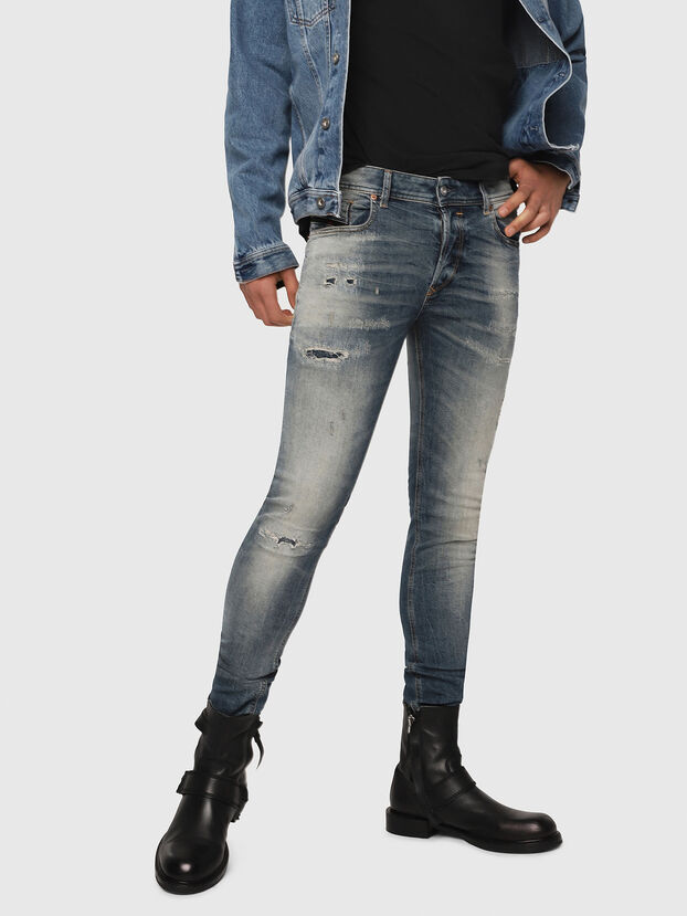 Sleenker 069DK, Medium Blue - Jeans