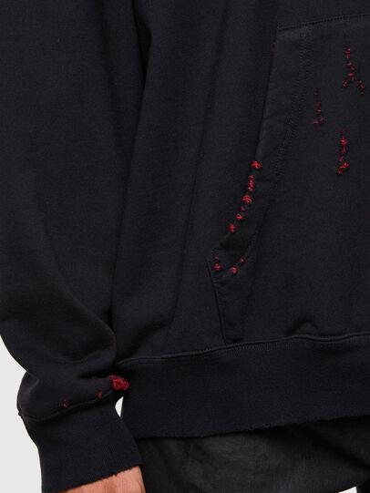 Diesel - S-UMMER-N71, Black - Sweatshirts - Image 4