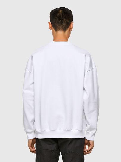 Diesel - S-MART-A90, White - Sweatshirts - Image 2