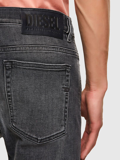 Diesel - D-Amny Skinny Jeans 09A18, Black/Dark Grey - Jeans - Image 3